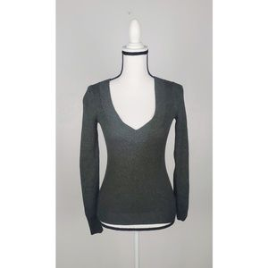 Express Fitted Crew Neck Sweater Extra Small